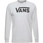 Vans Classic Logo Long Sleeve T-Shirt Grey