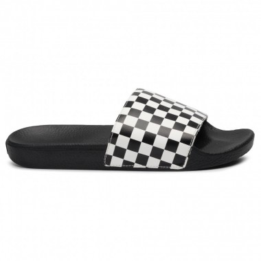 VANS slippers Slide-On(Checkerboard) White