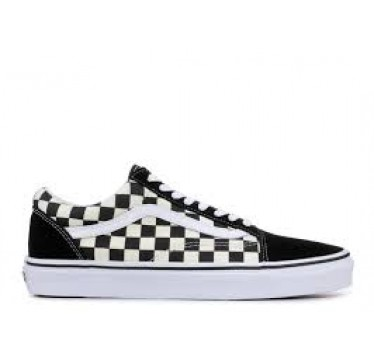 VANS PRIMARY CHECKERBOARD OLD SKOOL BLACK/WHITE