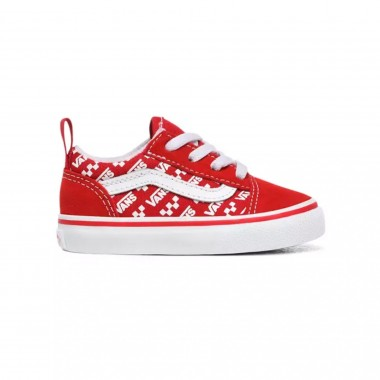 VANS KIDS OLD SKOOL ELASTIC LACE