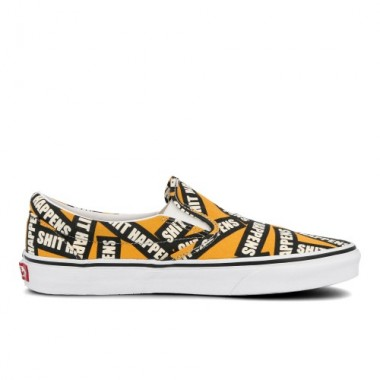 Vans Classic Slip-On Shit Happens