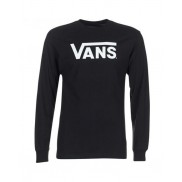 Vans Classic Logo Long Sleeve T-Shirt Black