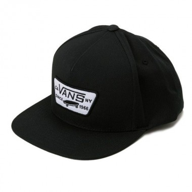 VANS FULL PATCH SNAPBACK CAP Black