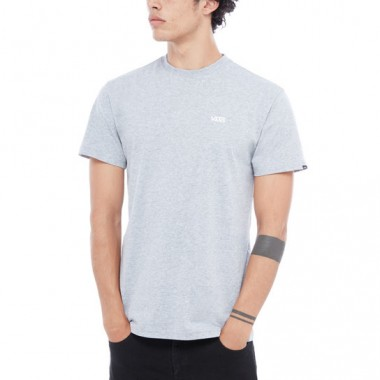 Vans Men Left Chest Logo Tee Grey