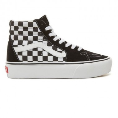 SK8-HI PLATFORM 2.0 SHOES Checkerboard/True White