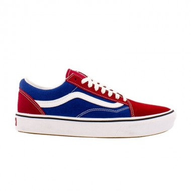 TWO-TONE COMFYCUSH OLD SKOOL SHOES Chili pepper/True Blue